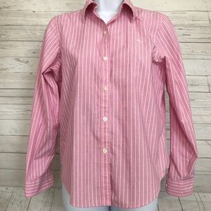Lauren Ralph Lauren PS Striped Long Sleeve Blouse